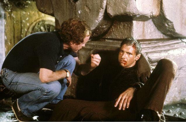 Photo Harrison Ford, Ridley Scott