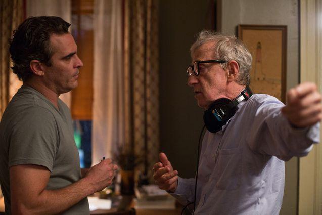 Photo Joaquin Phoenix, Woody Allen