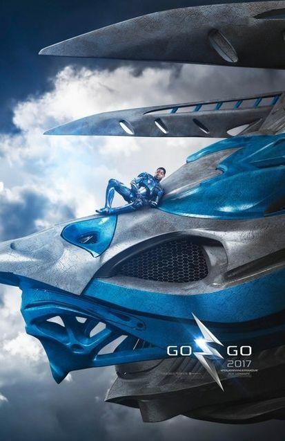 Photo Affiche Power Rangers Bleu