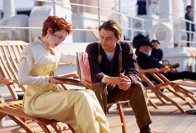 Photo Kate Winslet, Leonardo DiCaprio