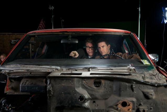 Photo Christopher McQuarrie, Tom Cruise