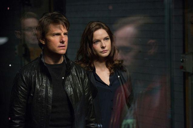 Photo Tom Cruise, Rebecca Ferguson