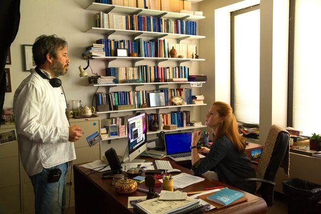 Photo Amy Adams, Denis Villeneuve