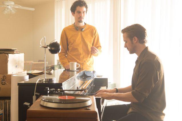 Photo Ryan Gosling, Damien Chazelle