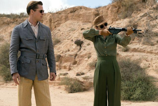 Photo Brad Pitt, Marion Cotillard