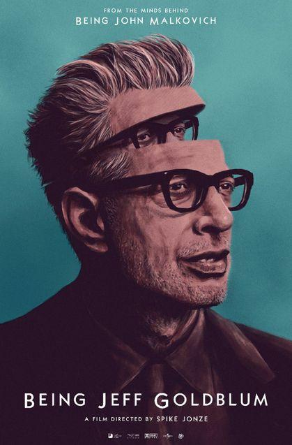 Dans la Peau de Jeff Goldblum - Affiche