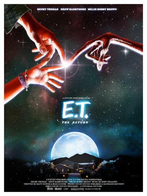 E.T. The Return - Affiche
