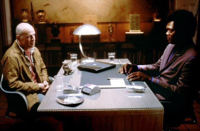 Photo Bruce Willis, Samuel L. Jackson