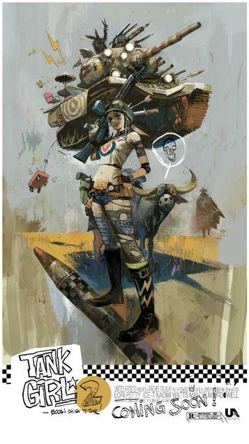 Tank Girl 2 - Affiche