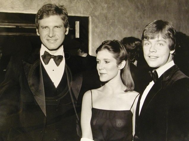 Harrison Ford Mark Hamill, Carrie Fisher