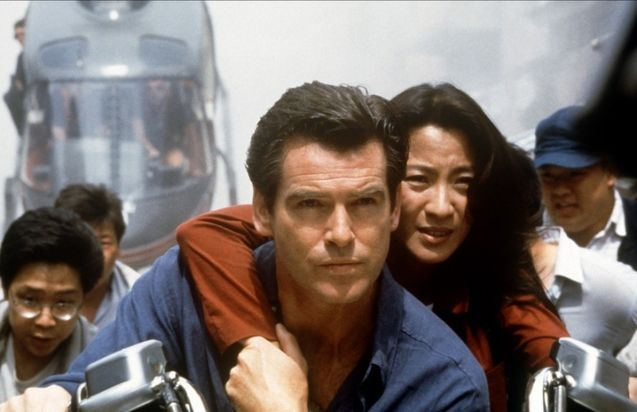 Photo Michelle Yeoh, Pierce Brosnan