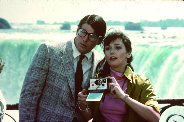 Photo Christopher Reeve, Margot Kidder
