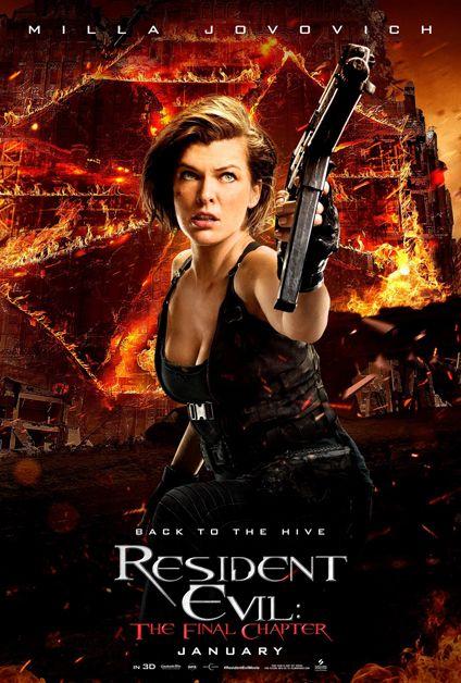 Affiche Milla Jovovich