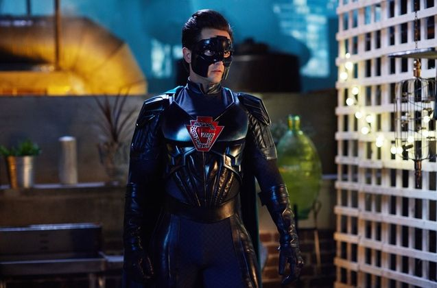 Photo Justin Chatwin, The Return of Doctor Mysterio