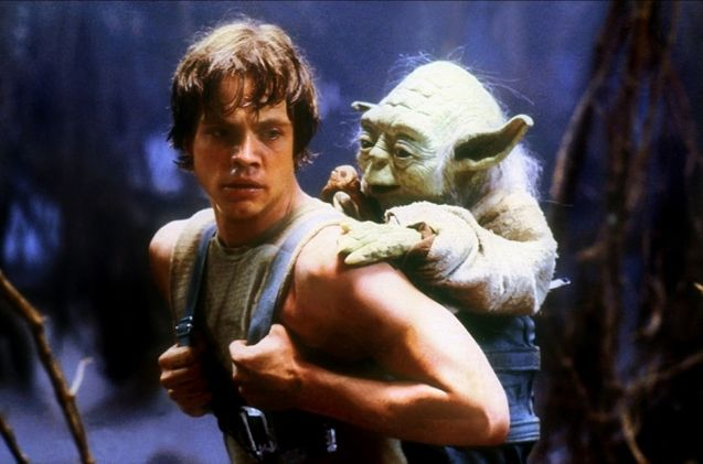 Photo Mark Hamill, Yoda