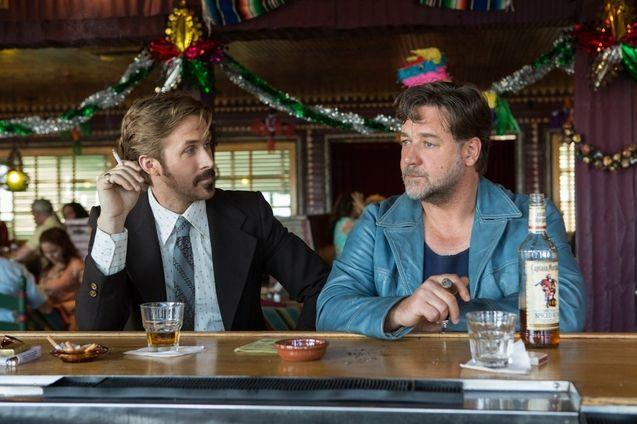 Photo Russell Crowe, Ryan Gosling