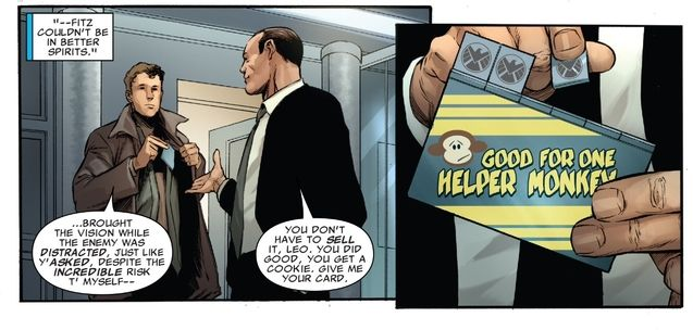 Fitz, Coulson version comics