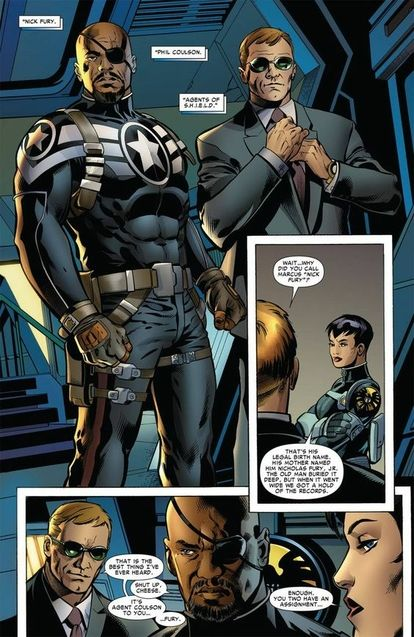 Nick Fury, Phil Coulson version comics