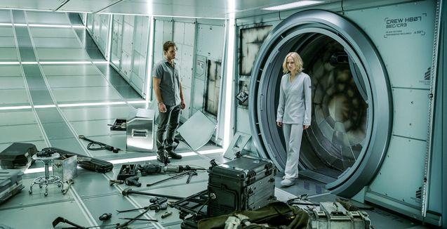 Photo Chris Pratt, Jennifer Lawrence