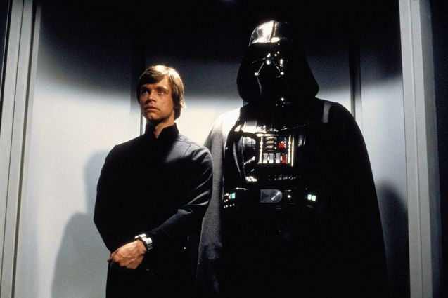 Photo Mark Hamill, Dark Vador