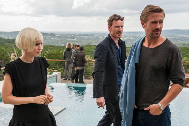 Photo Rooney Mara - Michael Fassbender - Ryan Gosling