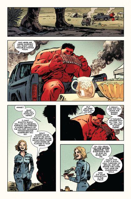 Photo Hulk rouge et Annie (comics)