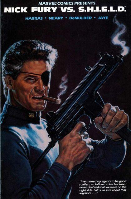 Photo Nick Fury vs SHIELD (comics)