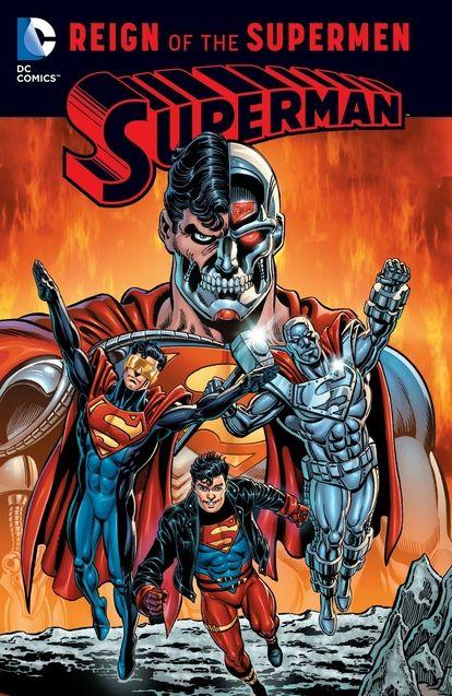 Photo Couverture Reign of the Supermen (comics)