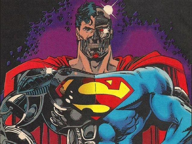 Photo Cyborg Superman (comics)