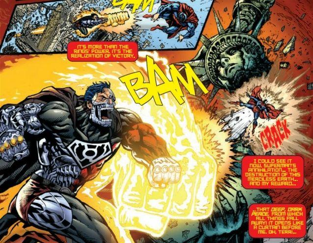 Superman VS Cyborg Superman Comics