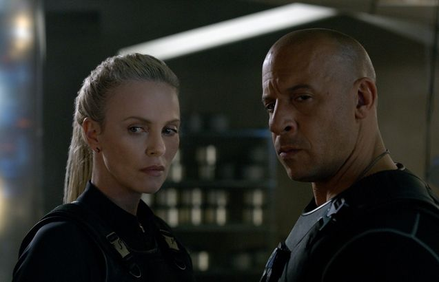 Photo Charlize Theron, Vin Diesel