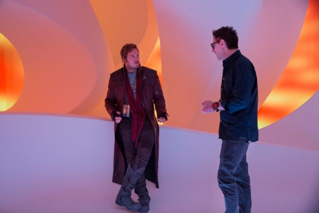 Photo Chris Pratt, James Gunn