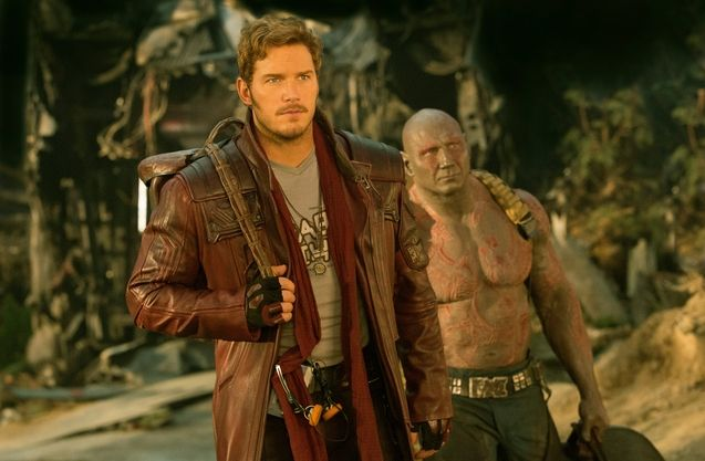 Photo Chris Pratt, Dave Bautista