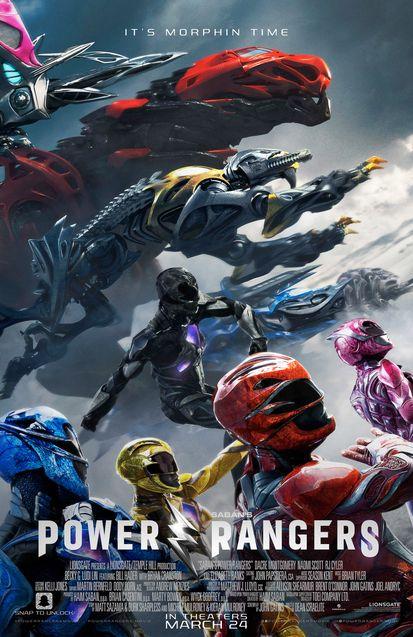 Photo Power Rangers Affiche Zords