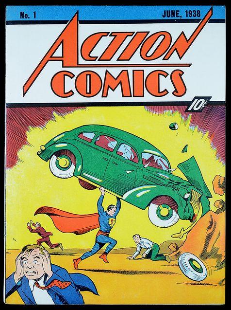 Photo Couverture d'Action Comics 1 (comics)