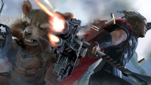 Photo Avengers Infinity WAr