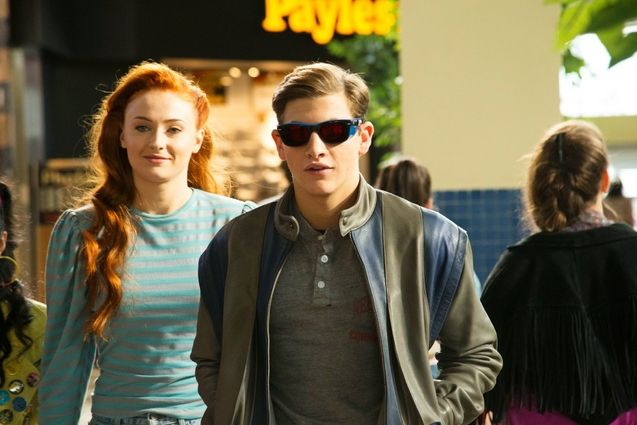 Photo Tye Sheridan, Sophie Turner