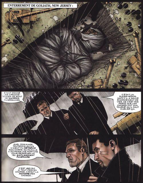 Comics : Enterrement de Goliath