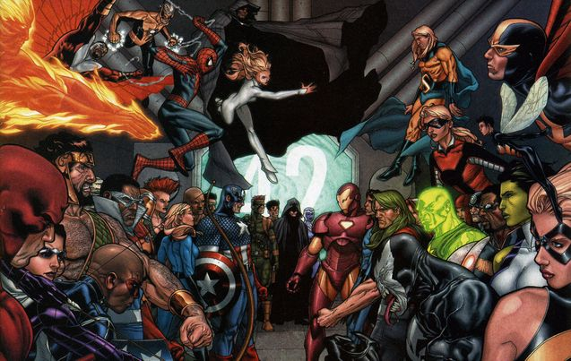 Comics : Les super héros se déchirent