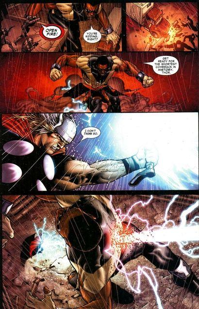 Comics : mort de Goliath