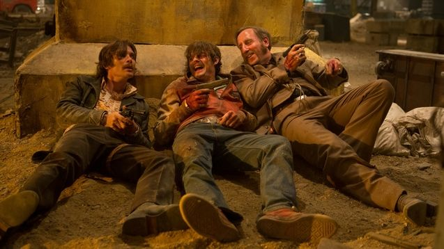 Photo Cillian Murphy, Michael Smiley, Sam Riley