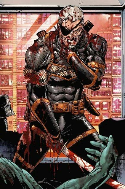 Deathstroke comics