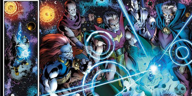 Comics : Les Doyens de l'univers