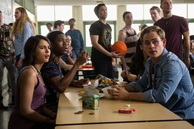 Photo Dacre Montgomery, Naomi Scott, RJ Cyler