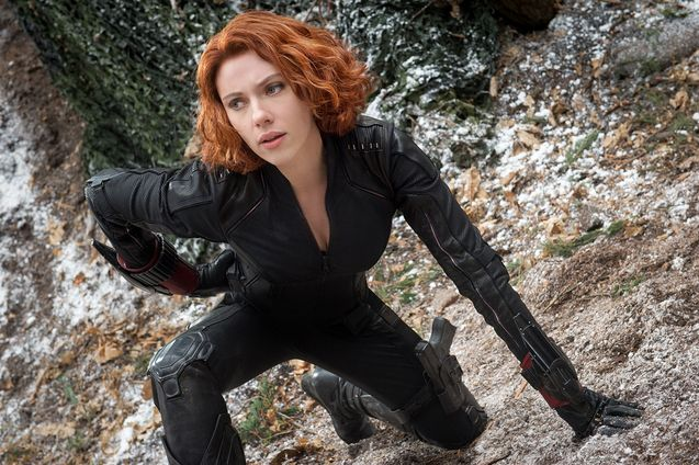 Photo Scarlett Johansson, Black Widow