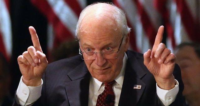 Cheney Dick trifft auf Presse