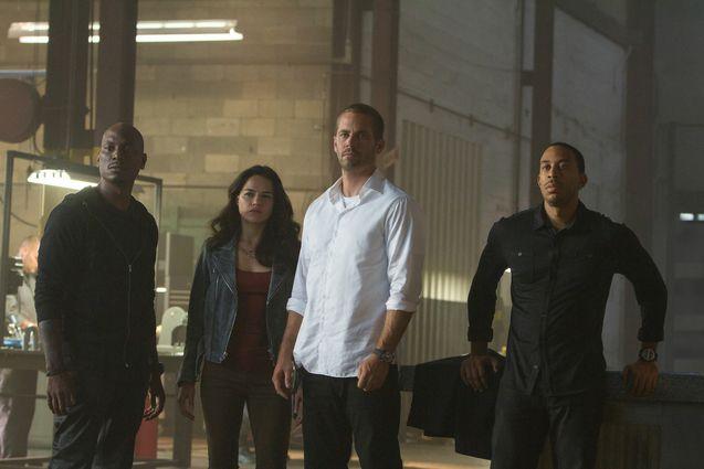 Photo Ludacris, Michelle Rodriguez, Paul Walker, Tyrese Gibson