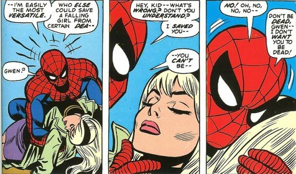 Comics La mort de Gwen Stacy