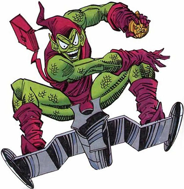 Comics Le bouffon vert