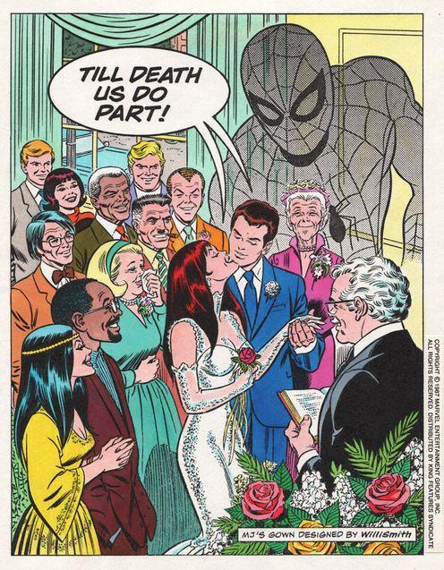Comics Le mariage de Spider-Man